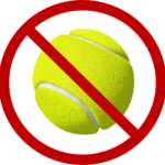 anti tennis ball