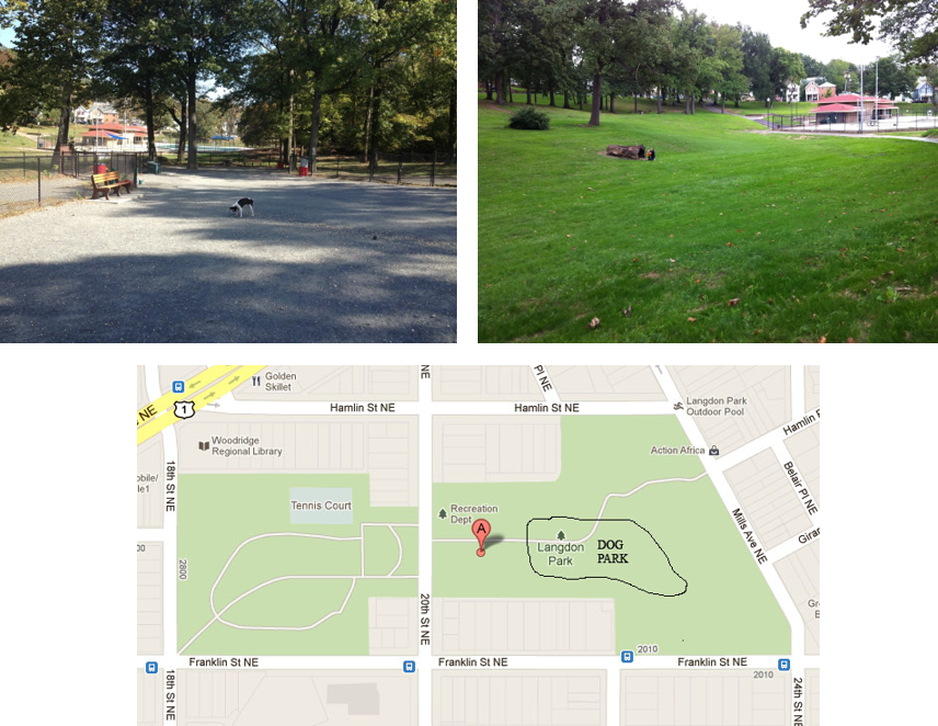 Images courtesy of Langdon Dog Park.